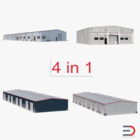 warehouse buildings 2 3ds