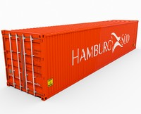 HAMBURG SUD Shipping Container