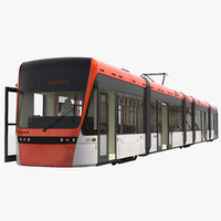 light rail train bybanen max