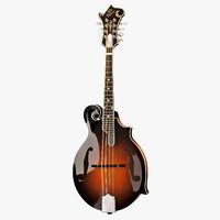 gibson f5g mandolin 3d x