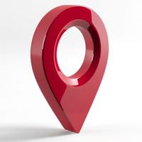 3dsmax pin maps modeled