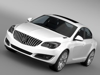 3d buick regal 2015