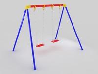 swing kids 3d model