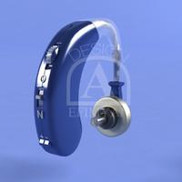 hearing aid 3d max