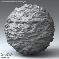 Displacement Landscape Shader_051