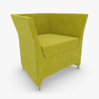 3d model realistic sillon boss 05