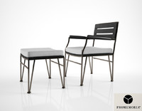 promemoria cernobbio chair 3d model