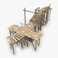 2 bridge 3d model