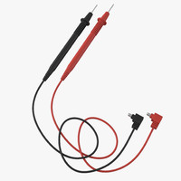 test lead wire probe 3d model