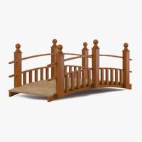 3ds wooden bridge