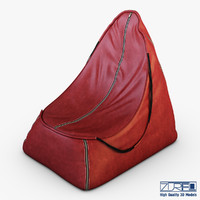 suite pna red leather 3d obj