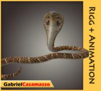 3d model indian cobra