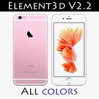 4 element3d 3d 3ds