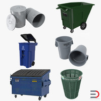 garbage cans 2 max