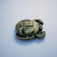 3dsmax egypt scarab