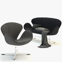 swan chair sofa max