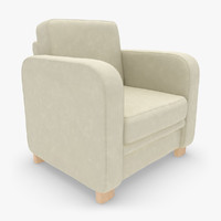 sillon boss 07 2 3d 3ds