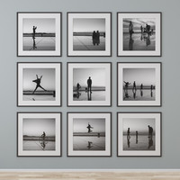 3d photo wall model