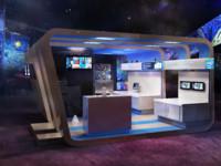 design exhibition 3d max