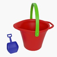 Toys Bucket With Shovel