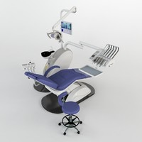 dental equipment 3d model