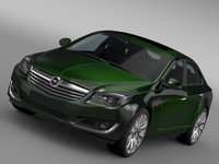 3ds max opel insignia hatchback 2015