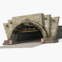 3ds max entrance tunnel