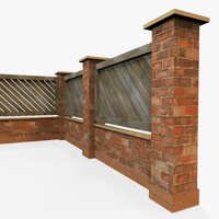 3d x modular garden wall