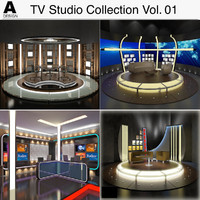 TV Studio Collection Vol 01
