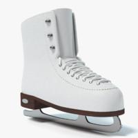 3d ice skates model