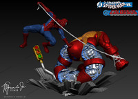 amazing spiderman colossus 3d model
