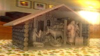3ds max nativity scene