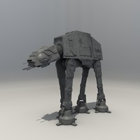 3d model at-at walker star wars