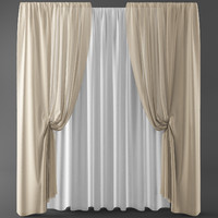 Curtains+tulle(blinds)001