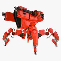 maya robot spider