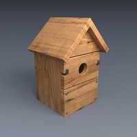 3ds max nest box wood