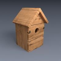 3ds max nest box wood