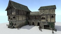 Medieval City Storehouse