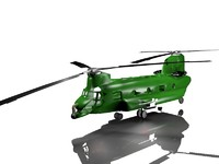 Low poly Helicopter BD1