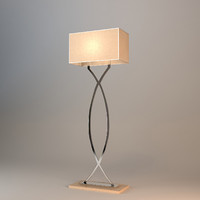 tura floor lamp 3d 3ds