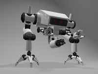 robot warriors 3d model