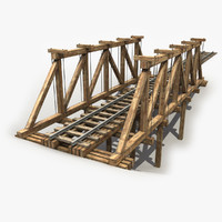 max 3 wooden railway bridge