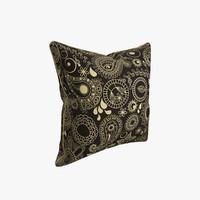 pillow photorealistic cucumber 3d obj