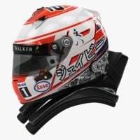 Jenson Button 2015 style Racing helmet