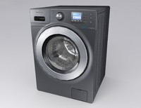 washing machine 3d model