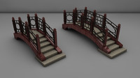 3d model bridge 2 size