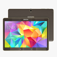 3d samsung galaxy tab s model
