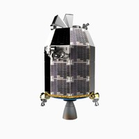ladee spacecraft 3d model