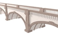 arched stone bridge max