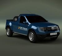 3d model new dacia 2014 1